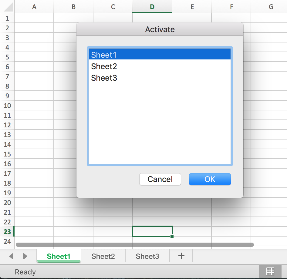 how to change permissions of excel sheet