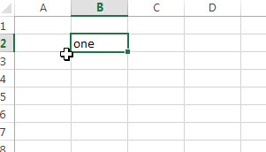 excel fill range select