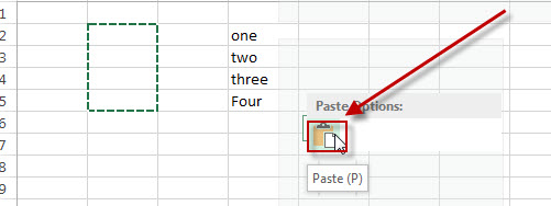 excel move range cut