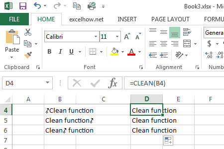 clean remove non-printable