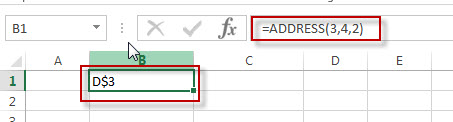 excel address function example2