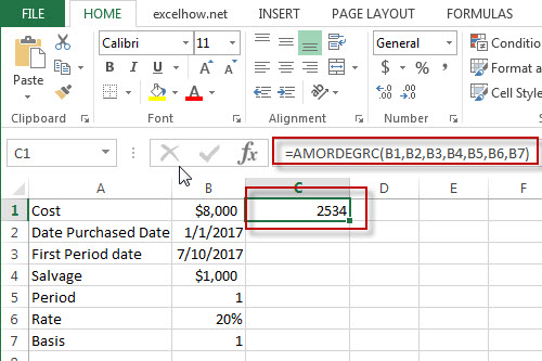 excel amordegrc function example1