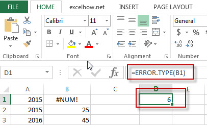 excel error type function example1