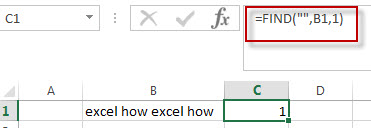 excel find function example4
