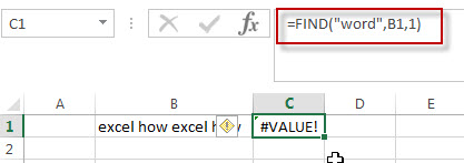 excel find function example5