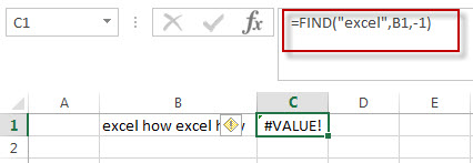 excel find function example6