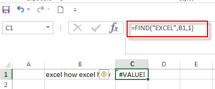 excel find function example7