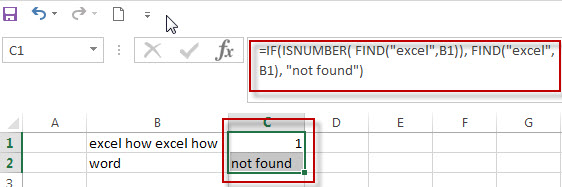 excel find function qa1