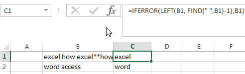 excel find function qa3-2