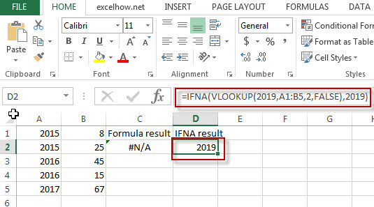 excel ifna function example1