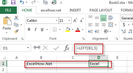 excel left function example1