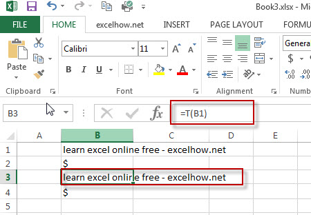 excel t function example1