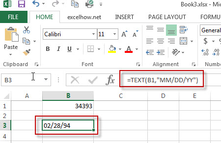 excel text function example