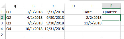 Nested If Statement Using Date Ranges1