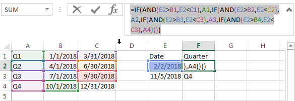 Nested If Statement Using Date Ranges2