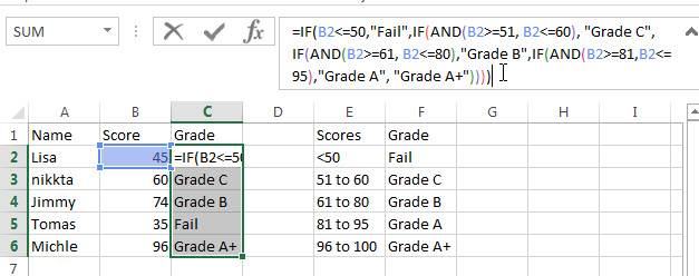excel nested if example10_1