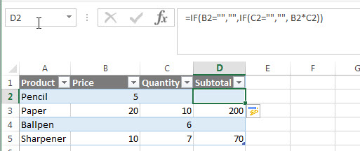 excel nested if example11_4