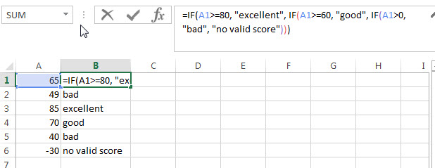 excel nested if example3_1
