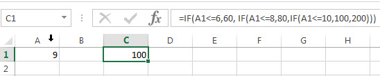 excel nested if example4_1