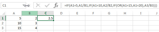 excel nested if example7_1