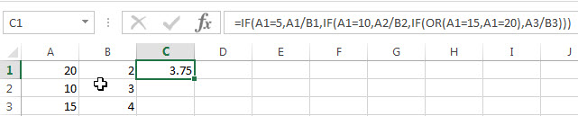 excel nested if example7_2