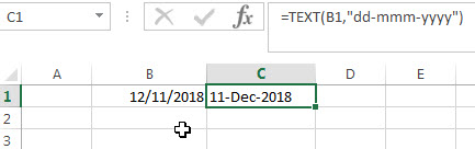 Convert Date to Text with Text Function1