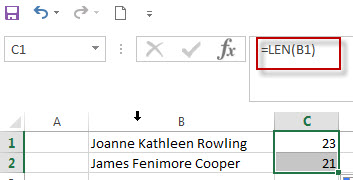 Get Last Name from Full Name in Excel2