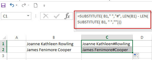 Get Last Name from Full Name in Excel5