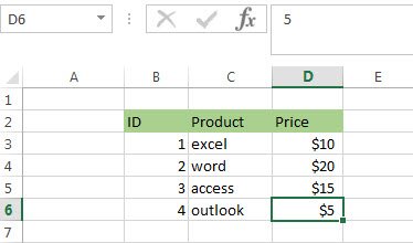 how to find the relative position in a range or table in