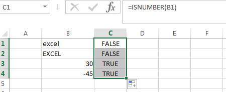 ISNUMBER Function Examples1