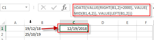 convert text to date4