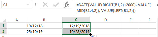 convert text to date5
