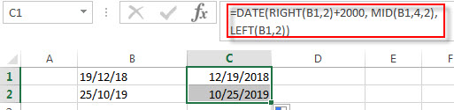 convert text to date6
