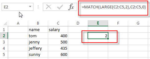 find nth largest value3