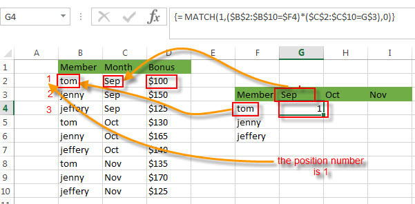 transpose value with multiple criteria1