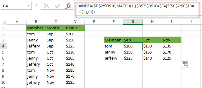 transpose value with multiple criteria2