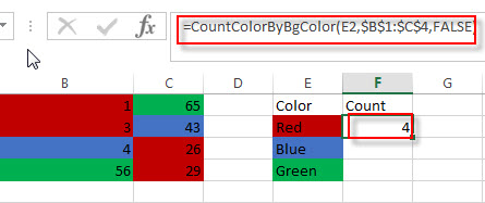 count and sum cell by bg color2