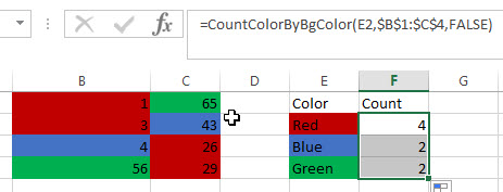 count and sum cell by bg color3