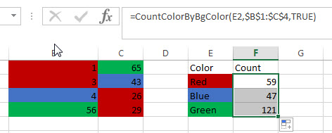 count and sum cell by bg color4