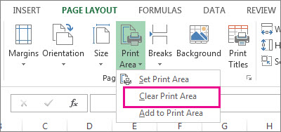 clear print area1