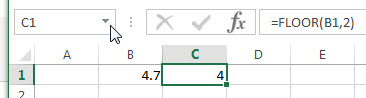 excel floor example1