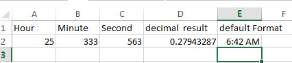 excel time function example1