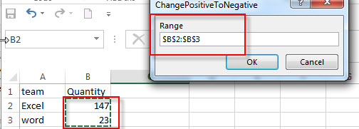 convert positive number to negative7