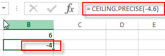 excel ceiling precise example2