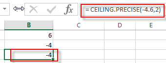 excel ceiling precise example3