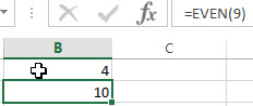 excel even examples2