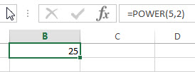 excel power example1