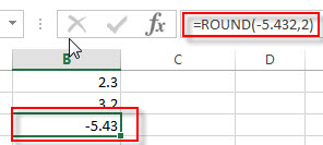 excel round examples3
