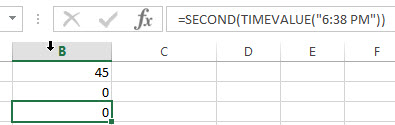 excel second example2