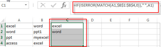 find duplicate values in two columns1